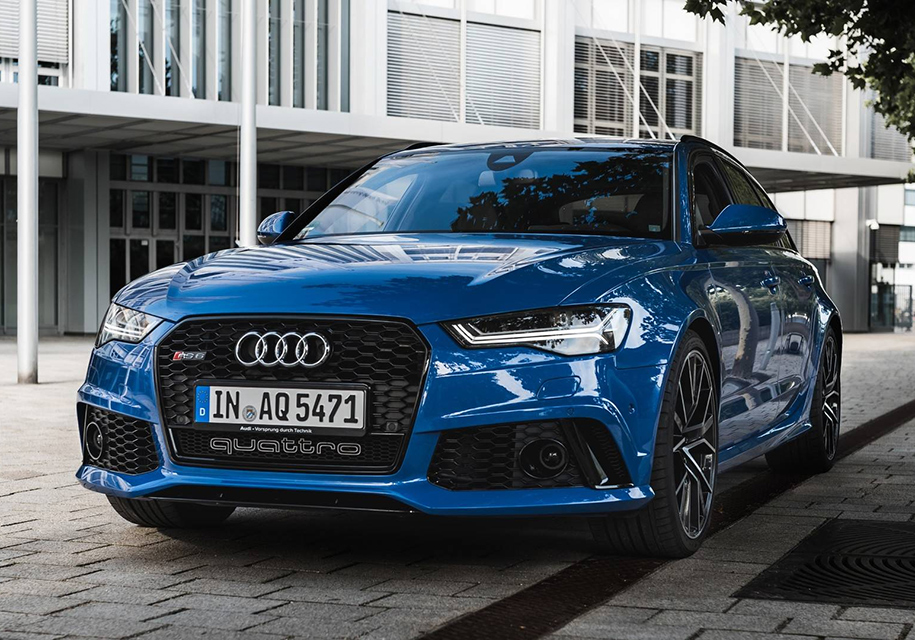 Audi выпустила «прощальный» универсал RS6 1