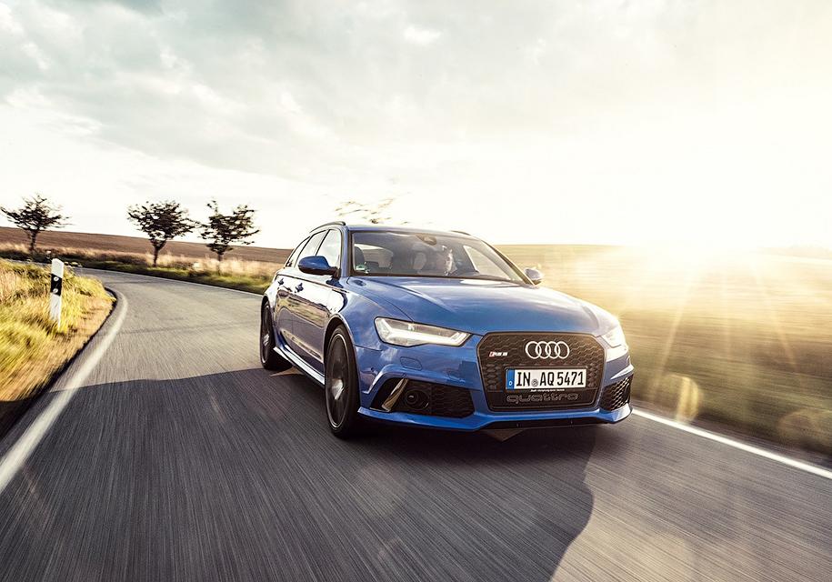 Audi выпустила «прощальный» универсал RS6 3