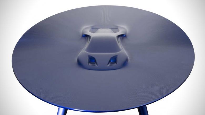 Кофейные столы с силуэтом автомобиля продают по 20 тысяч долларов 1