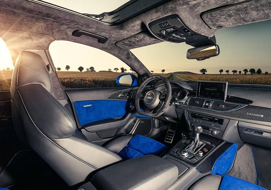 Audi выпустила «прощальный» универсал RS6 4