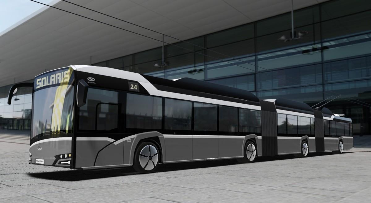 Поляки разрабатывают очень длинный троллейбус 1