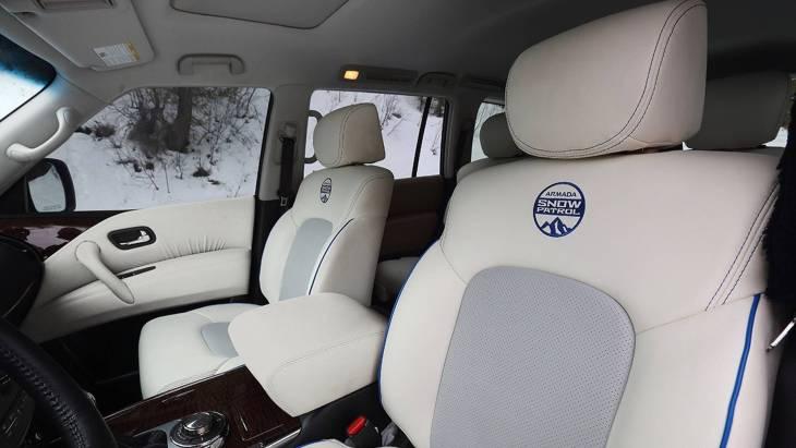 Nissan презентовал «зимнюю» версию внедорожника Armada 3