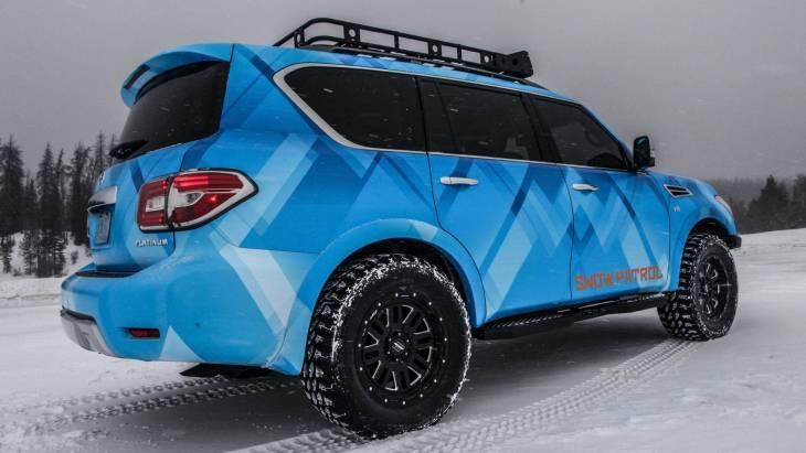 Nissan презентовал «зимнюю» версию внедорожника Armada 2