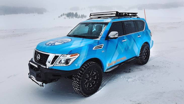 Nissan презентовал «зимнюю» версию внедорожника Armada 1