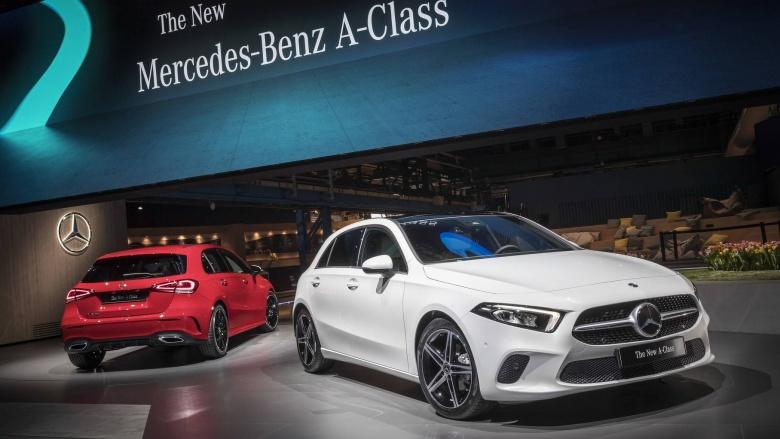 Новый Mercedes-Benz A-Class дебютировал официально 4
