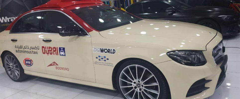 Первые беспилотные такси появились на улицах Дубая 1