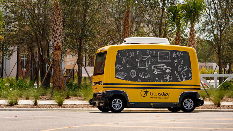 Запуск автономного школьного автобуса обернулся скандалом 1