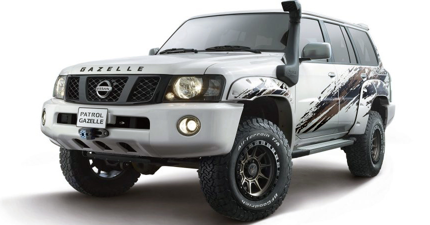Nissan выпустил внедорожник под названием «Газель» 2