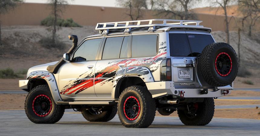 Nissan выпустил внедорожник под названием «Газель» 3