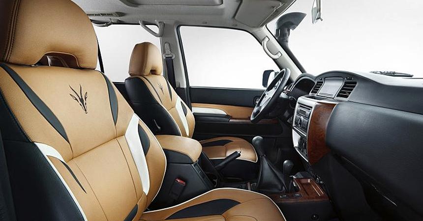 Nissan выпустил внедорожник под названием «Газель» 4