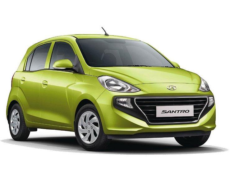 Hyundai выпустил новый бюджетный хетчбэк Santro 1