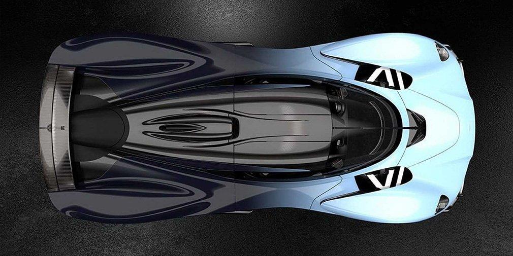 Aston Martin опубликовал новые фотографии 1000-сильного гиперкара 1