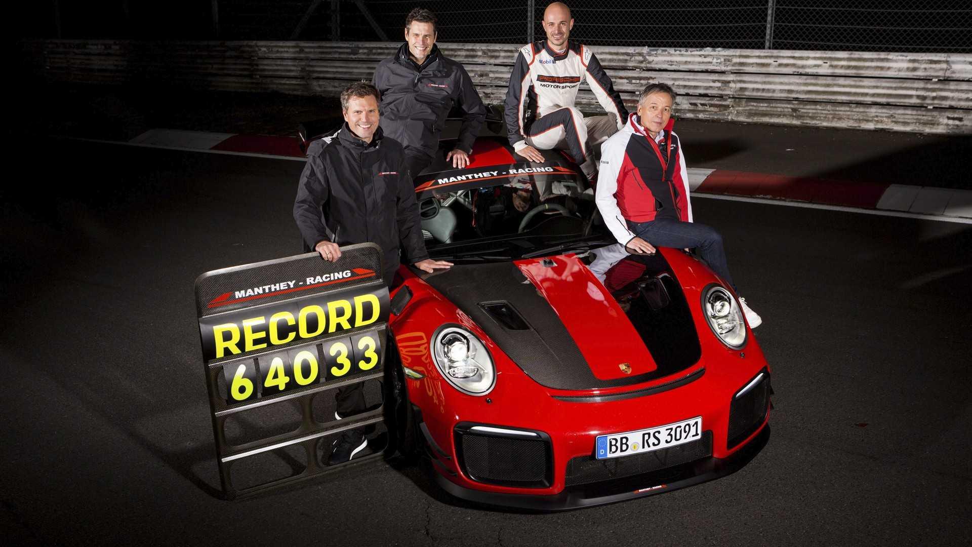 Porsche вернул себе рекорд «Северной петли» 1