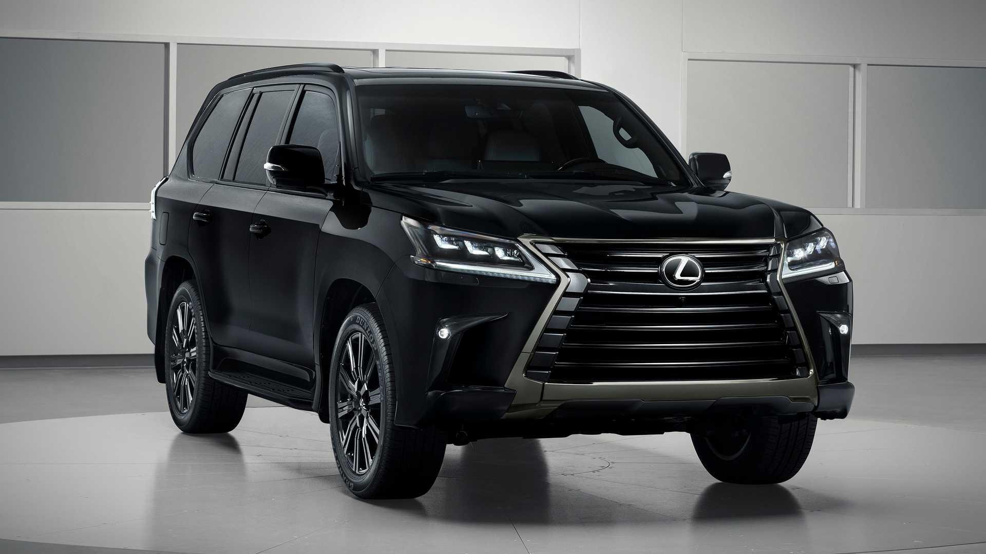 Внедорожнику Lexus LX добавили «очень черную» версию Inspiration Series 1