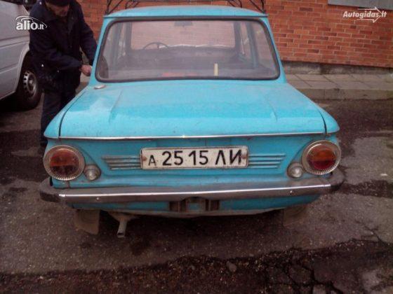Самый дешевый подержанный автомобиль из Литвы продают за 4 евро 1