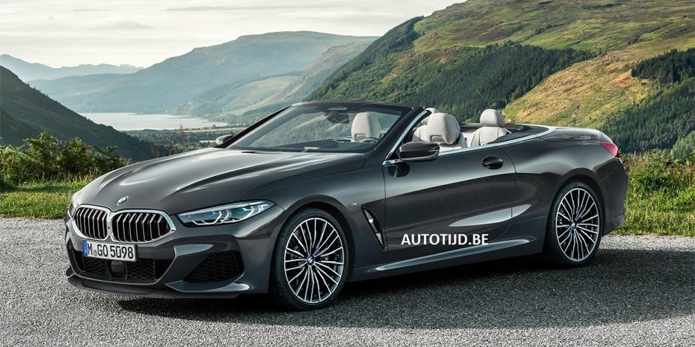 Внешность открытой BMW 8-Series рассекретили в интернете 1