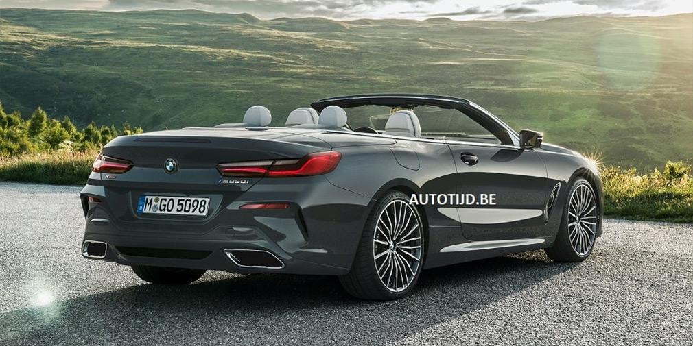 Внешность открытой BMW 8-Series рассекретили в интернете 2