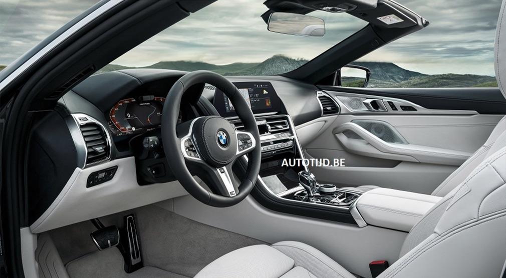 Внешность открытой BMW 8-Series рассекретили в интернете 3