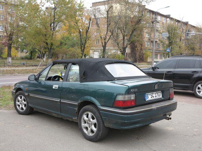 Самое непрактичное авто на еврономерах в Киеве 1