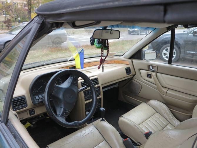 Самое непрактичное авто на еврономерах в Киеве 2
