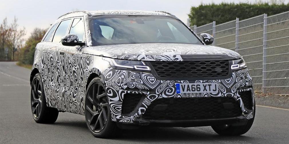 Спортивную версию Range Rover Velar заметили на Нюрбургринге 1