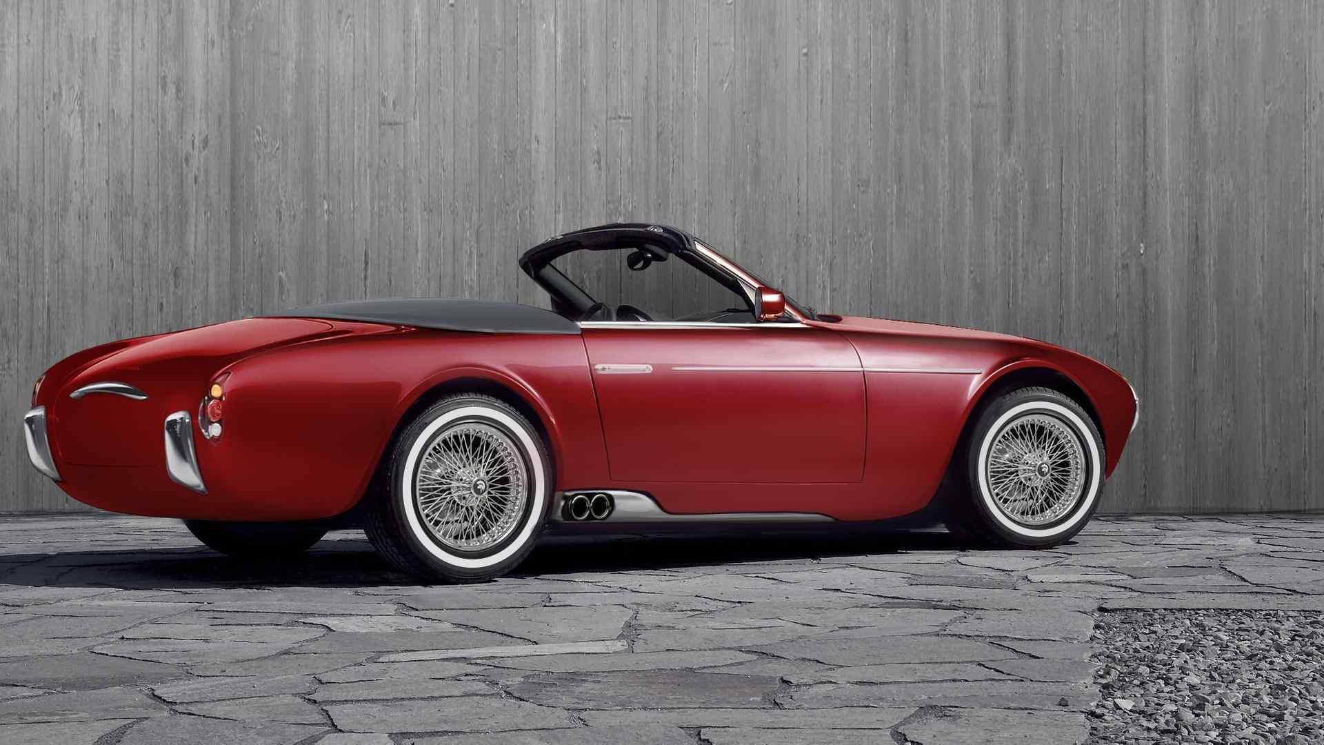 Ares Design сделал Project Wami в стиле Maserati 50-х 2