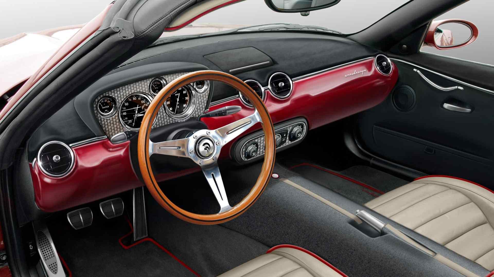 Ares Design сделал Project Wami в стиле Maserati 50-х 3
