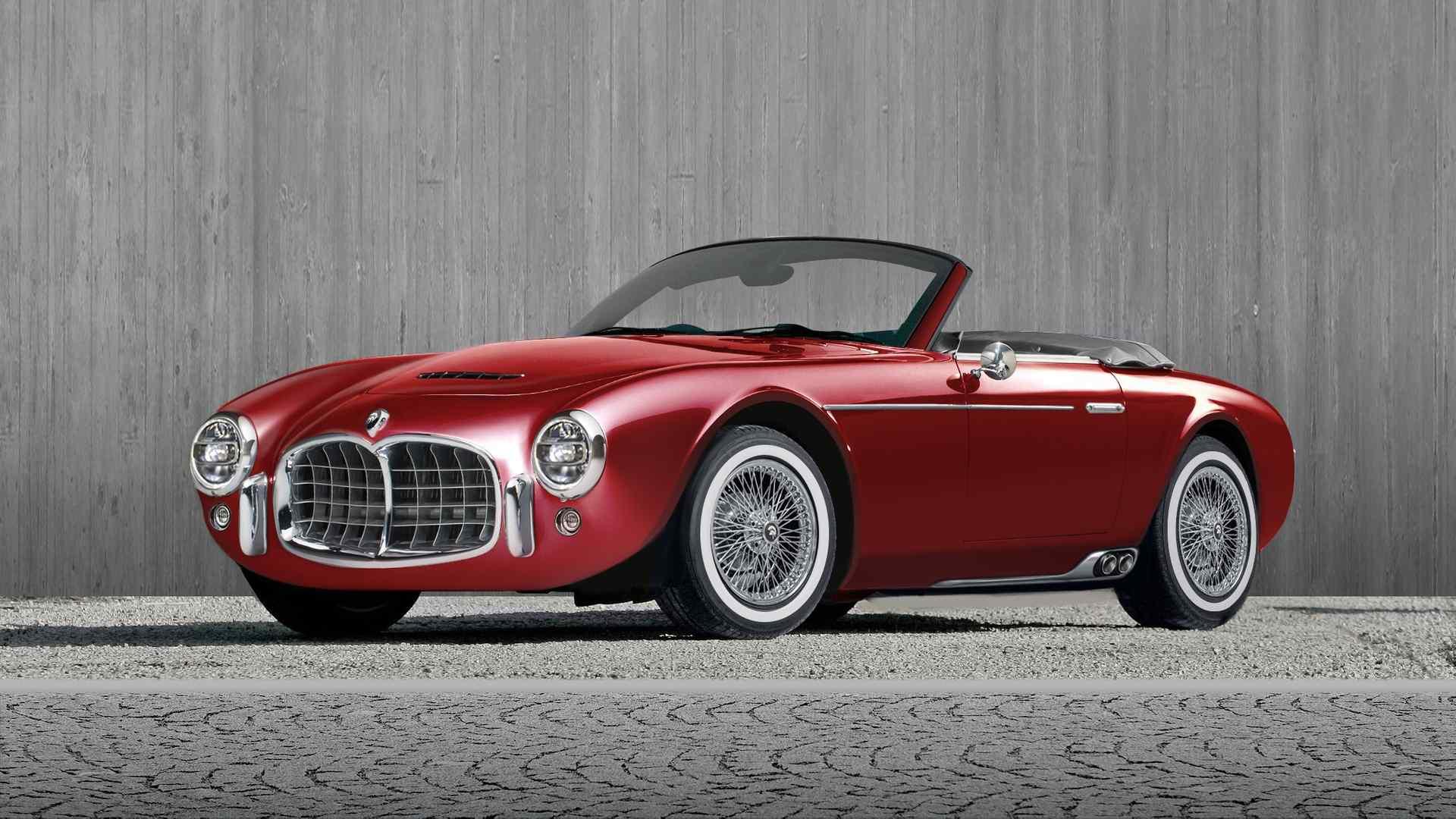 Ares Design сделал Project Wami в стиле Maserati 50-х 1