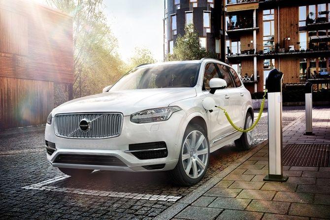 Volvo взялась за зарядки для электрокаров 1