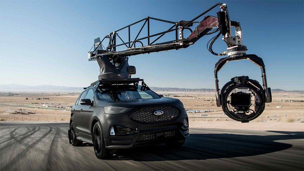 Ford Edge подготовили к съемкам автомобильных погонь 1