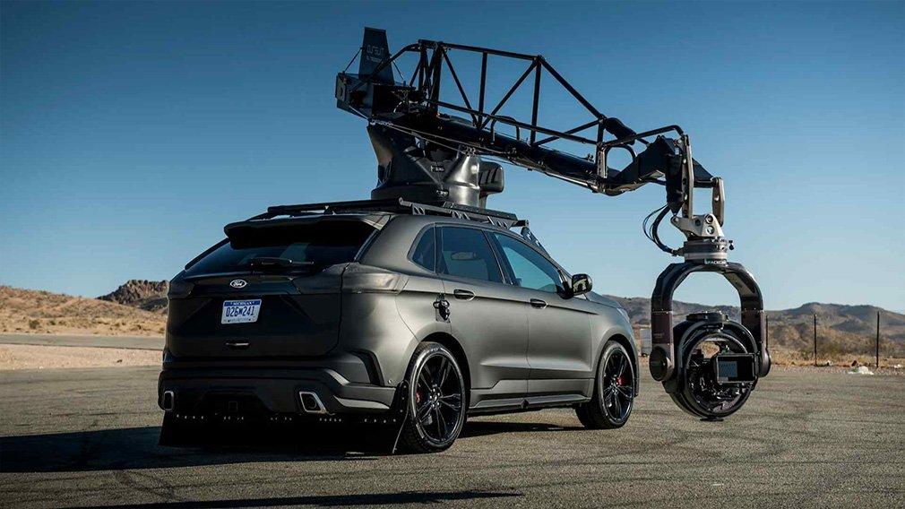 Ford Edge подготовили к съемкам автомобильных погонь 2