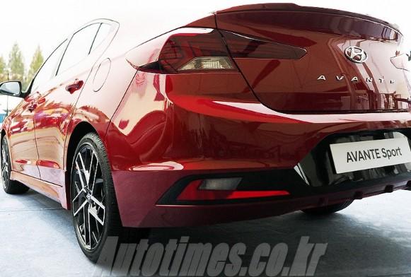 Обновленная «заряженная» Hyundai Elantra Sport сохранила 204-сильный двигатель 2