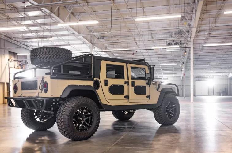 Ателье Mil-Spec представило рестомод Hummer H1 за 250 тысяч долларов 2