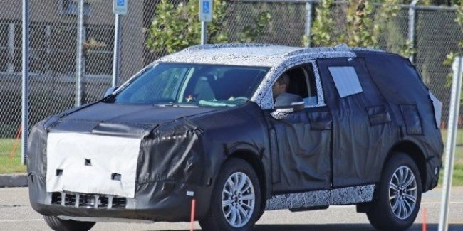 Прототип внедорожника Buick замечен на общественных дорогах 1