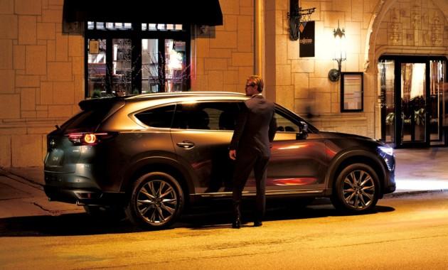 Трёхрядный кроссовер Mazda CX-8 обновили через год после премьеры 2