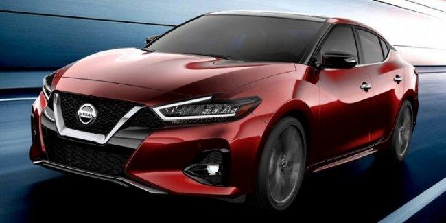 Nissan представит новый Maxima на автошоу в Лос-Анджелесе 1