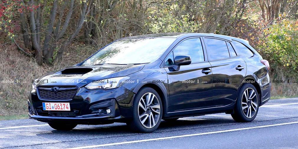 Subaru приступила к тестам универсала Levorg нового поколения 1