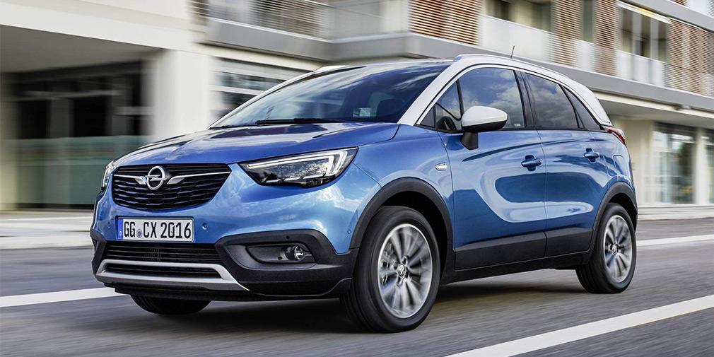 Кроссовер Opel Crossland X получил новый дизель с «автоматом» 1