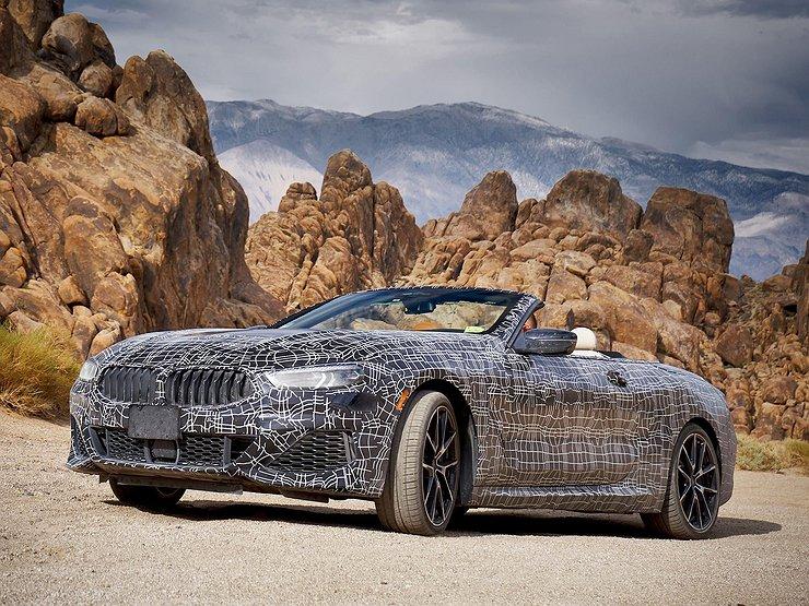 Объявлена дата премьеры BMW 8-й серии в кузове кабриолет 1