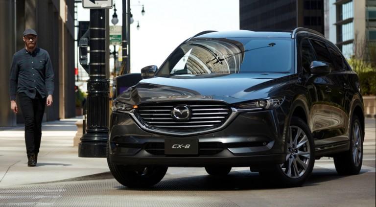 Трёхрядный кроссовер Mazda CX-8 обновили через год после премьеры 1