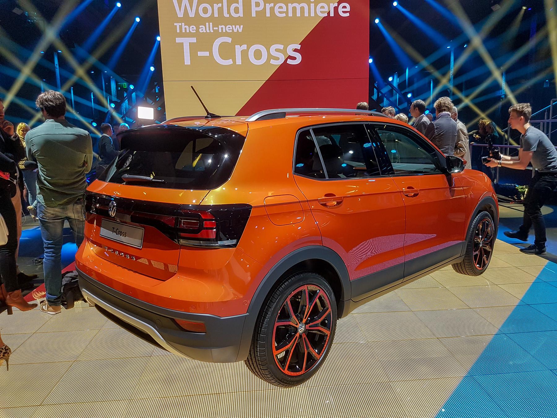 Volkswagen официально представил кроссовер T-Cross 3