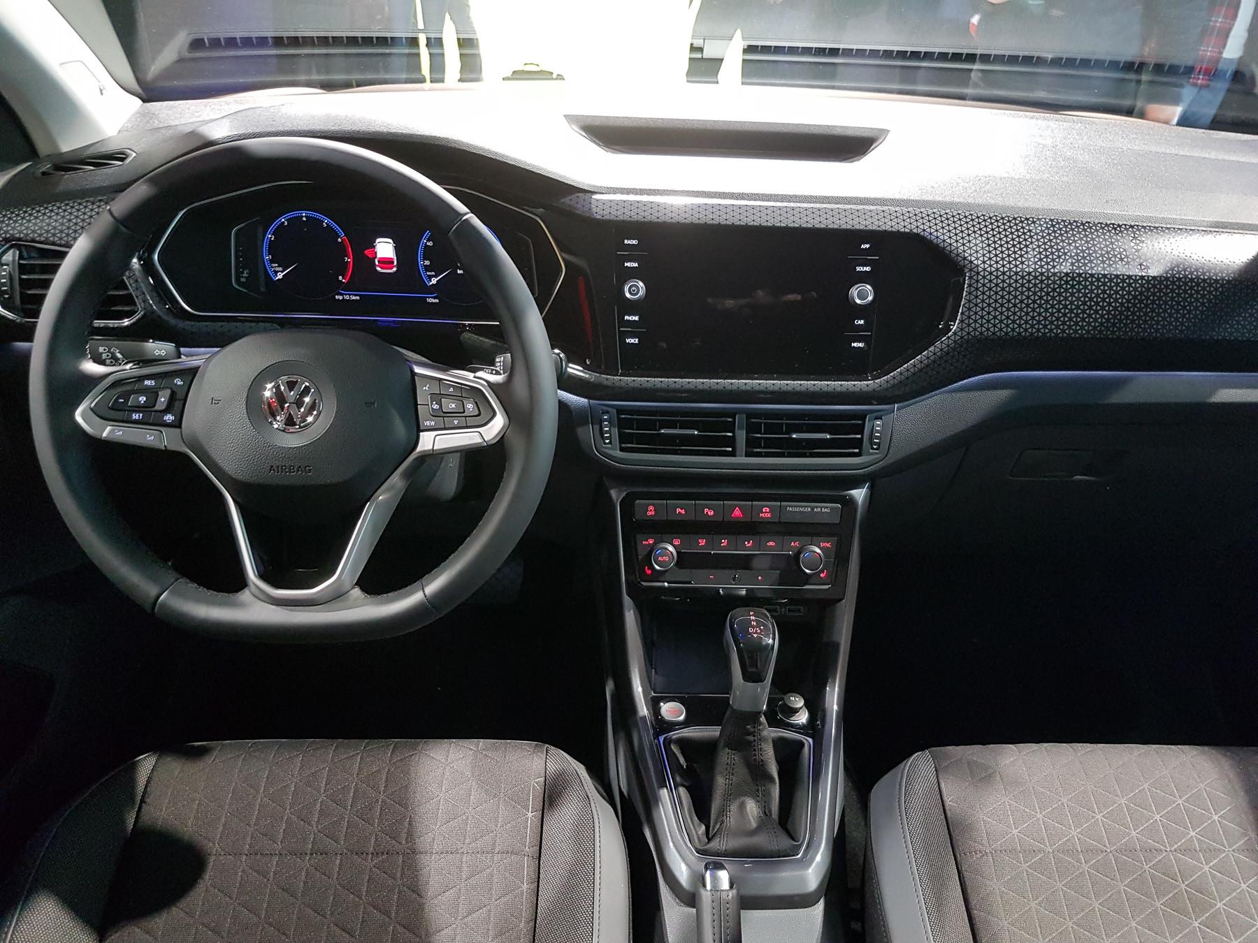 Volkswagen официально представил кроссовер T-Cross 4