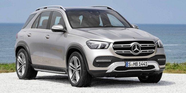 Mercedes сообщил новые подробности о гибридном внедорожнике GLE 1