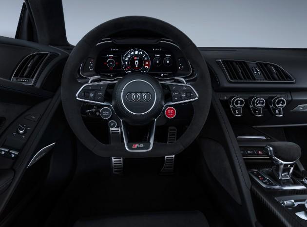 Audi представила обновленное купе и родстер R8 3