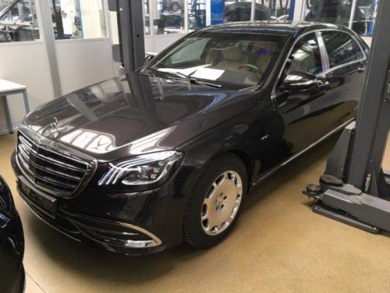 В Украине впервые появился бронированный Mercedes-Maybach S650 1