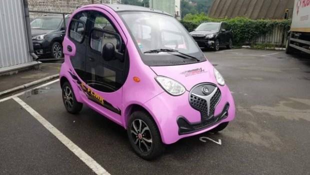 120 км на одном заряде: в Украине начали продавать электромобиль дешевле $4 000 1
