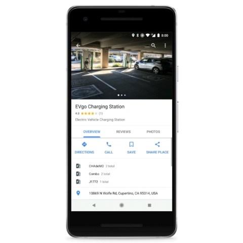 Google Maps внедрил интерактивные карты зарядных станций 2