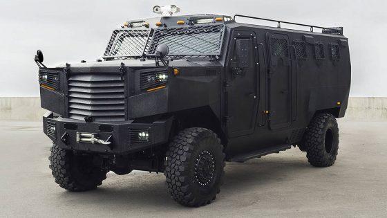 Inkas Superior: новый бронеавтомобиль для военных 1