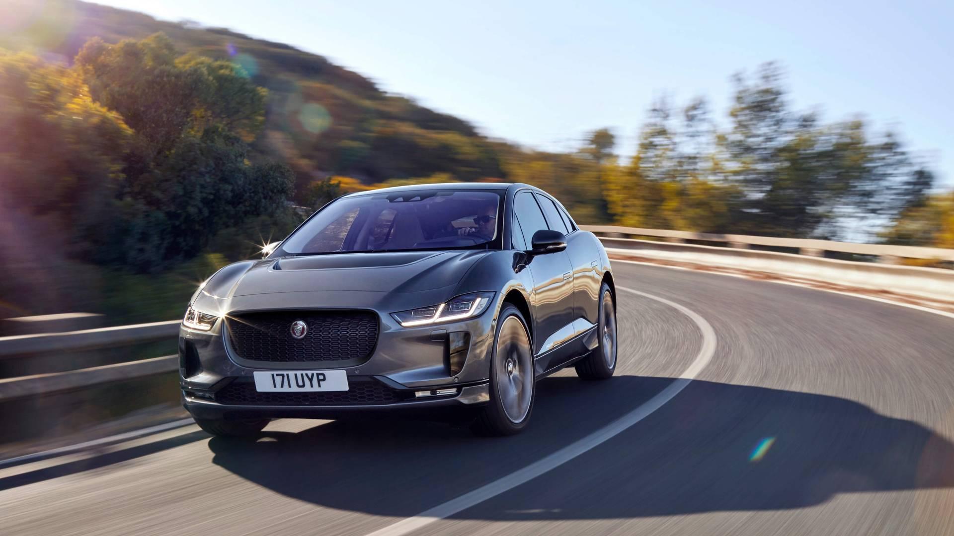 Jaguar доставил первый I-Pace в США 1