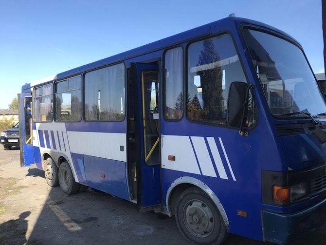 Экспериментальный украинский автобус Эталон Сити выставлен на продажу 1